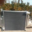 3 Row International Scout II & Pickup 5.0L 5.6L V8 1970-1981 aluminum radiator