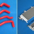 aluminum radiator&silicone hose FOR Honda CRF450X CRF 450 X 2005-2012 2006 2007
