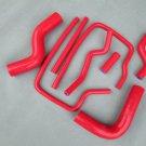 For Subaru Impreza Wrx Sti GC8/EJ20 Ver 3-6 Silicone Hose 1996-2000 97 98 red