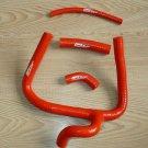 FOR Honda CR250 CR250R silicone radiator hose 2002-2008 03 2004 2005 2006 Red