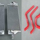 Aluminum radiator AND HOSE FOR Honda CR125 CR125R CR 125 03 2003