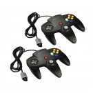 New Long Controller Game System for Nintendo 64 N64 Black