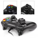 New 2x Black Wired USB Game Pad Controller For Microsoft Xbox 360 PC Windows
