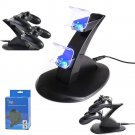 New PlayStation PS4 Dual Controller LED Charger Dock Station USB Charging Stand