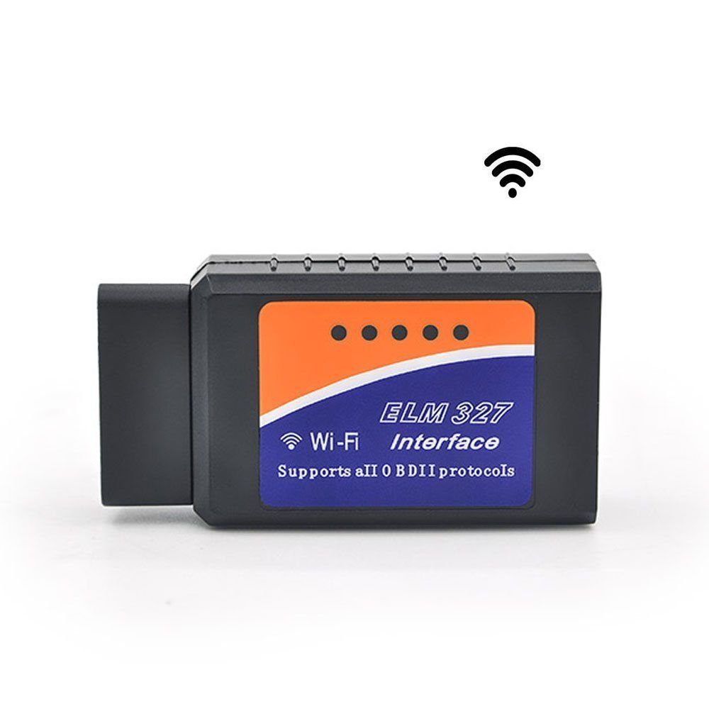 new mini elm327 wifi obd2 obdii wifi for iphone car diagnostic interface scanner. Black Bedroom Furniture Sets. Home Design Ideas