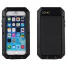 New Waterproof Shockproof Aluminum Metal Glass Case Cover for iPhone 6 Black