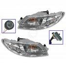 Headlight Headlamp Pair Set of 2 for International 4100 4200 4300 4400 8500