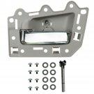 Rear Inside Beige/Chrome Door Handle Kit Driver LH Left for 05-10 Grand Cherokee