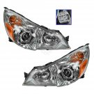 Headlight Headlamp LH & RH Pair Set of 2 for 10-12 Subaru Legacy Outback