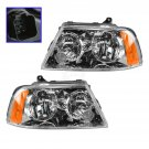 New Headlights Headlamps Left & Right Pair Set NEW for 03-06 Lincoln Navigator