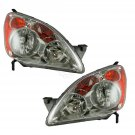 Headlights Headlamps Left & Right Pair Set for 05-06 Honda CRV (UK Built Models)