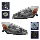 Headlights Headlamps Left & Right Pair Set NEW for 04-05 Toyota Sienna