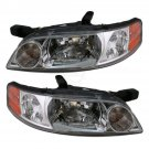Headlights Headlamps Pair Set NEW for 00-01 Nissan Altima