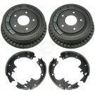 "9.5"" Drum Rear Brake & Shoe Set Pair Kit AUTO EXTRA for Chevy Pontiac"