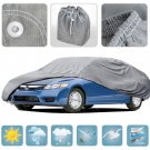 Large Car Cover Waterproof All Weather Ding Protection Multi Layers