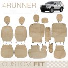 Custom Fit Seat Covers for Toyota 4 Runner 2012 to 2013 Exact Trim Encore Beige