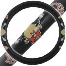 ORIGINAL 14.5 15.5 Warner Bros Yosemite Sam Licensed Design Steering Wheel Cover