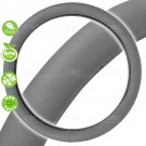 Original Breathable Steering Wheel Cover For Car SUV Truck Pure ODORLESS Gray