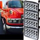 4X LED Sealed Beam Headlights Bulb For Kenworth T800 Peterbilt 378 357 OY