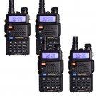 4x Baofeng UV-5R V UHF 136-174 400-520M Dual-Band Two-way Ham Radio Transceiver