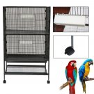 52inch Bird Cages Large Play Top Parrot Finch Cage NEW Aviary Supplies OY