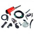 Portable Household Car Wash Water Gun High Pressure Pure Copper Gun Head OY Red