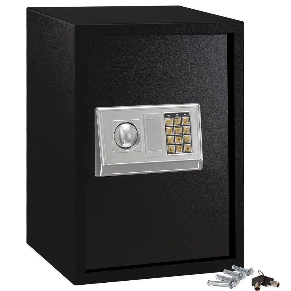 20inch electronic digital lock keypad safe box cash jewelry safe black new oy. Black Bedroom Furniture Sets. Home Design Ideas