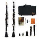 NEW BAND CLARINET Wood Finish CASE APPROVED WARRANTY OY