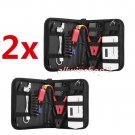 18000mAh 12V Mini Battery Car Emergency Charger Jump Starter Power Bank 2Pcs OY