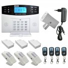 Wireless LCD GSM SMS Burglar Fire Alarm System Auto Dialer Home Security Safe Y