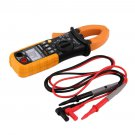 Digital Clamp Meter DC AC Volt AC Amp Ohm Tester PEAKMETER MS2008A 2000 Counts Y