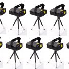 10x Mini Projector DJ Disco LED Light Stage Party Laser Lighting Show Plug H