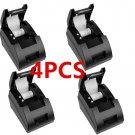 4pcS 12V USB Mini 58mm POS ESC Thermal Dot Receipt Printer 384 Line w Roll Paper