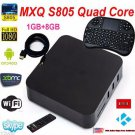 S805 Smart TV BOX Android Quad Core 8GB 1080P 4K Media Player+ Keyboard