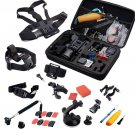 30in1 Head Chest Mount Floating Monopod Accessories Kit For GoPro 2 3 4 OY