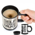 3Pcs New Stainless Steel Lazy Self Stirring Auto Mixing Mug Coffee Tea Cup OY