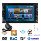 6.2Inch BT Radio GPS Head Unit Double Din Car Stereo DVD Player Backup Camera OY