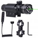 Tactical Green Laser Sight Remote Switch With Picatinny Mount Rifle OU