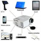 1080P LED HD MulitMedia white Cinema Theater USB TV VGA SD HDMI Mini Projector