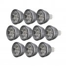 10PCS 4W Warm White MR16 12V 320LM Energy Saving LED Light Bulb Spotlight Lamp Y