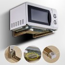 Adjustable Shelf Wall Mount Bracket Under TV Component Cable Box DVD Microwave Y