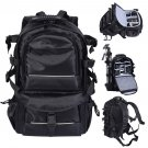 Deluxe camera Backpack Pro Bag Case Canon Nikon DSLR SLR BLACK Multifunctional