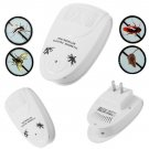 6 pcs Ultrasonic Electronic Indoor Anti Mosquito Mice Pest Bug AC Repeller OY