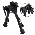 Tactical Rifle Gun AR Bipod OP SWAT Adjustable Mount Stand Dual Height Rail SWOY