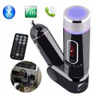 Bluetooth Car Kit FM Transmitter Handsfree Charger MP3 Player for iPhone6s 6Plus