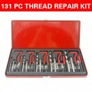 131PC HELICOIL THREAD/RETHREAD REPAIR KIT/SET M5 M6 M8 M10 M12 METRIC HD Pro OY