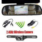 4.3 Car TFT LCD Monitor Mirror Wireless Reverse Car Rear View Backup Camera OB