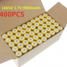 400pcs 18650 3.7V 9800mAh Yellow Li-ion Rechargeable Battery Cell For Torch OY