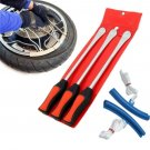 3Tire Lever Tool Spoon Motorcycle Bike Tire Iron Change Kit with Case Set DY