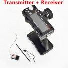 Fly Sky FS-GT3B 2.4G 3CH Radio Control Gun Transmitter TX Receiver For RC Car UY